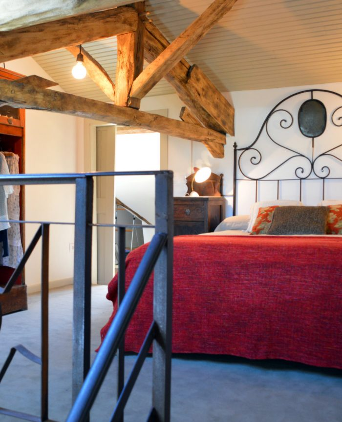 Bed & Breakfast - Cordes sur Ciel - Room Rubis Double Bed