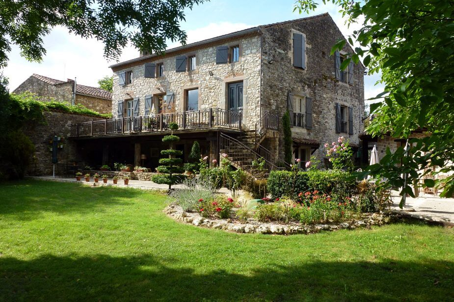 Bed & Breakfast - Cordes sur Ciel - Luxury Garden to relax